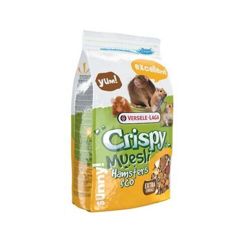 Versele-Laga Crispy Muesli Hamsters & Co корм для хомяков, 400 г