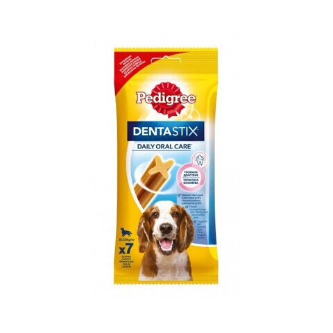 Pedigree Denta Stix лакомство для собак Семь пластинок, 180 г